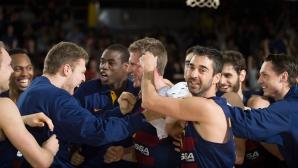 Барселона и Везенков с важна победа в битката за плейофите в Евролигата (видео)