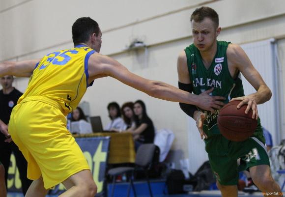 НБЛ наложи глоба от 200 лева на баскетболист на Балкан