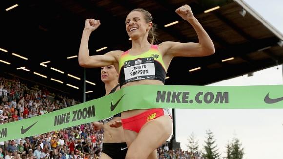Джени Симпсън оглави световната ранглиста на 1500 метра