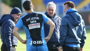 Стойчо Стоев определи групата на Левски за мача с Черно море
