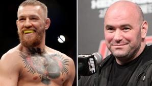 Уайт: Конър няма да се бие на UFC 200, но може би на UFC 201...