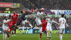 Суонзи натупа най-младия Ливърпул в историята (видео)