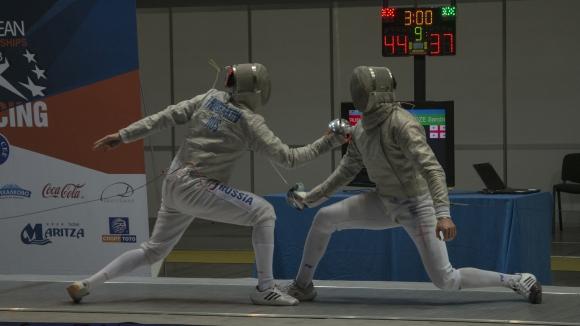 Русия триумфира в третия ден на европейското по фехтовка в Пловдив