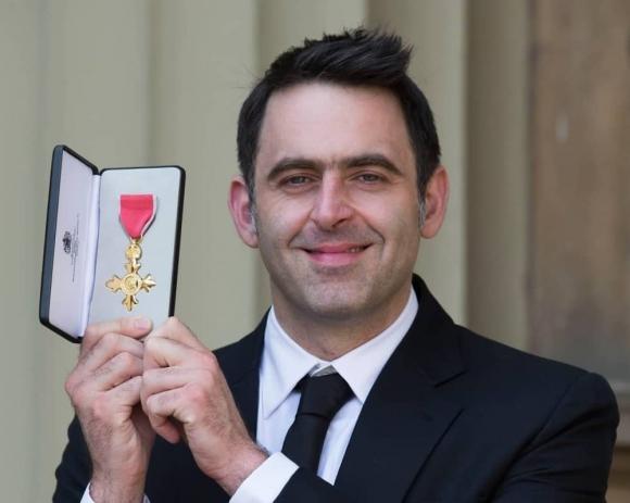 Рони О'Съливан получи Орден на Британската империя