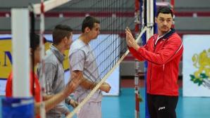 Владо Николов: Първи ден като треньор на национален отбор (СНИМКИ)
