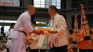 Злато и бронз за отбора на Българската карате киокушин федерация от турнира All Japan 2016