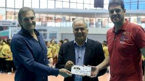 Риалити звезди помагат на Скаут лигата по волейбол