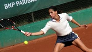 Шиникова продължава напред в Тунис
