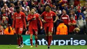 """Магията на """"Анфийлд"""" вдъхнови Ливърпул за нов европейски финал (видео + галерия)"""