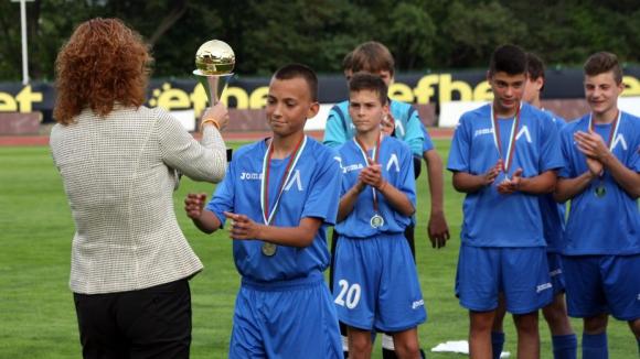 Левски отново би Берое при набор 2002 и спечели турнир
