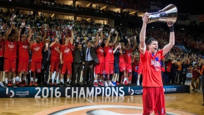 ЦСКА (Москва) е новият шампион в Евролигата (видео)