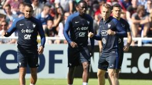 Лаказет заби хеттрик, а Бен Арфа три асистенции в тренировъчен мач на Франция