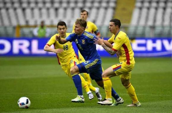 Украйна надви Румъния в голово шоу в Торино
