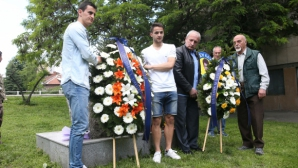 Левски отбеляза своя 102-и рожден ден (видео)