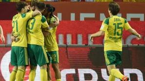 Кубан взе крехка предина над Том в плейофа за Премиер лигата в Русия