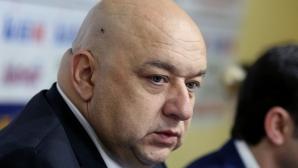 """Министър Кралев дойде на среща с БФС за новата """"А"""" група (видео)"""