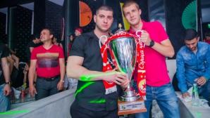 ЦСКА поля юбилейния трофей в нощния клуб на Батков (галерия)
