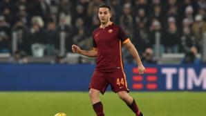 """""""Червените дяволи"""" започват офанзива за защитник на Рома"""
