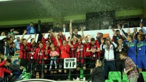 Заря Бълци заслужи първи трофей в клубната си история