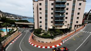 Ред Бул по-бързи от Мерцедес във втората тренировка в Монако
