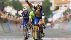 Късна атака на Трентин му донесе успех в най-дългия етап на Джирото