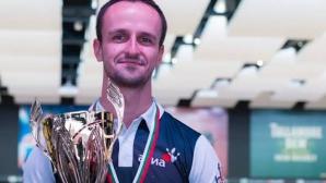 Руслан Василев е новият шампион по боулинг на България с рекорд