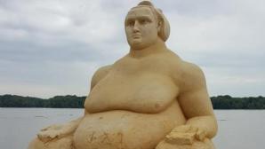 Котоошу от пясък очаква гости край Дунава