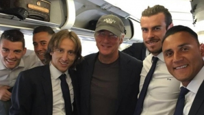 Ричард Гиър надъха Реал за Милано (видео)