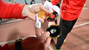 Медалът на цесекар се разпадна минути след награждаването