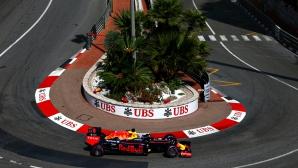 Рикардо отказа Мерцедес и Ферари с победа в квалификацията за ГП на Монако