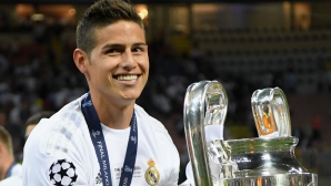 Хамес Родригес: Искам да остана в Реал Мадрид
