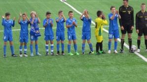 Децата на Левски при набор 2004 станаха градски шампиони