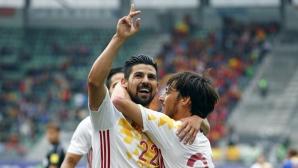 Нолито с два впечатляващи гола при победа на Испания (видео)