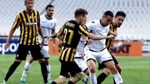 Реми в солунското дерби приближава ПАОК до Шампионската лига