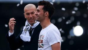 Арбелоа се появи на празника на Реал с фланелка на Черишев