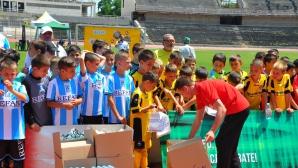 Фенклубът на Ливърпул организира детски турнир в Пловдив