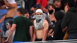 Германската полиция спря край Трир три буса с хулигани