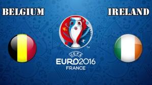 Белгия и Ейре в търсене на скъпоценна първа победа (състави)