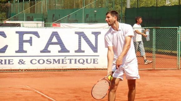 Лазов спечели титлата на двойки на турнир в Македония