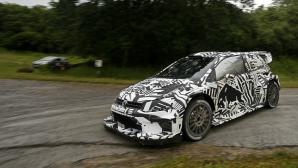 Новото Polo R WRC за 2017-а продължава с натоварените тренировки на родна земя