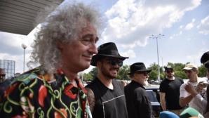 Queen + Adam Lambert са вече в България