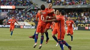 Чили отново на пътя на Меси към първи трофей с Аржентина (видео)