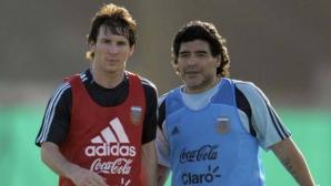 Марадона заплаши Меси и компания да не се завръщат, ако не спечелят финала