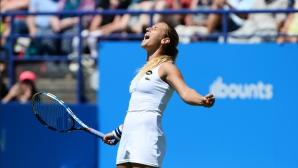 Радванска отпадна на четвъртфиналите в Ийстбърн