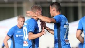 Младоци донесоха първата победа на Левски (видео+галерия)