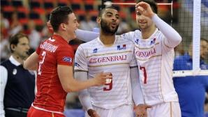 Франция удари Русия в Световната лига (ВИДЕО)