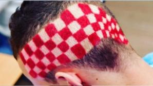 """Звезда на Хърватия с """"шахматна дъска"""" на главата"""