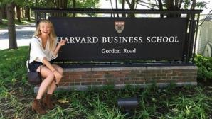 Шарапова беше приета в бизнес школата на Харвардския университет