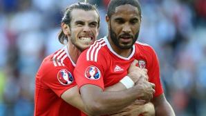 Капитанът на Уелс под въпрос за четвъртфиналите