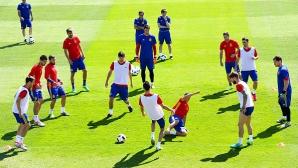 """Испания няма да изневери на стила си срещу """"Скуадра адзура"""""""